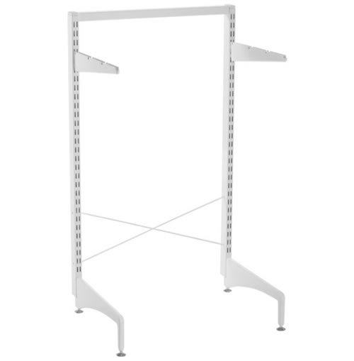 elfa freestanding stabilisation kit 60cm in white