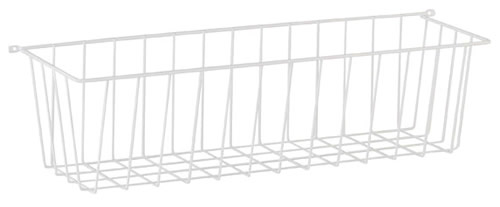 Elfa side basket - White 44cm deep