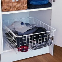 Elfa Easy Glide Clothes Basket - 35cm
