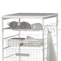 Bottle / Shoe Rack For Elfa Drawers 35cm x 54cm - White