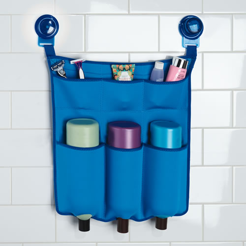 Neoprene shower storage caddy