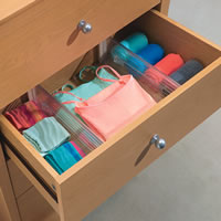 Set of 2 Expandable Drawer Organisers  - Large