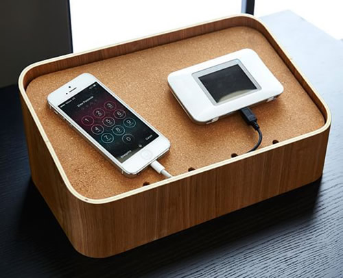 Sebastian Conran designed device charging station