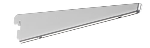 elfa twin slot shelving bracket 22cm long