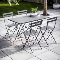 Rectangular Bistro Table & 4 Chairs