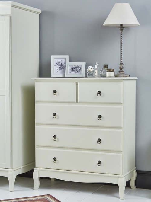 Parisian inspired chest of drawers