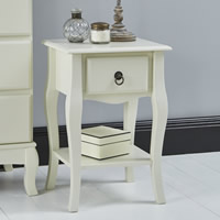 Parisian inspired side table / bedside cabinet