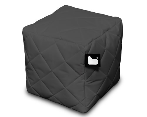 Extreme Lounging B-Box footstool with a quilted finish