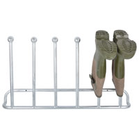 Wall Mounted Galvanised Welly Rack