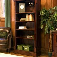 Tall Open Bookcase - La Roque