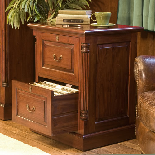 cabinets that look like furniture two drawer mahogany filing cabinet la roque baumhaus