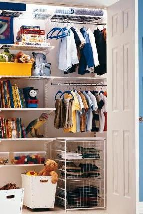 Store kids wardrobe elfa best selling solution Best wardrobe storage solutions
