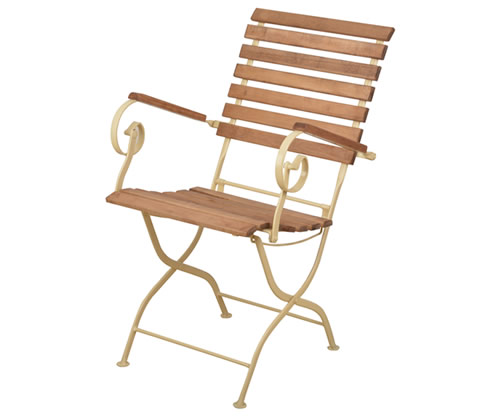 2 x Wooden Garden Chairs