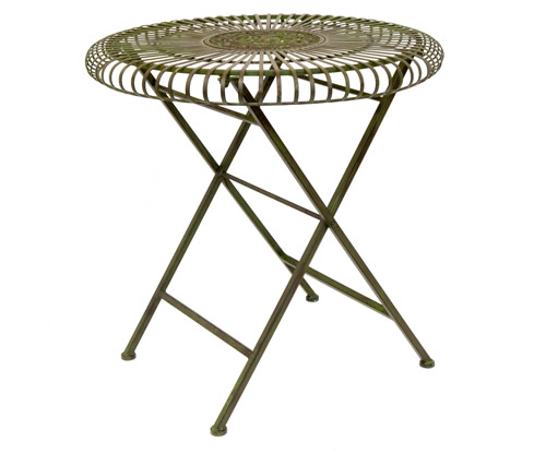 Circular Garden Table - Lucton