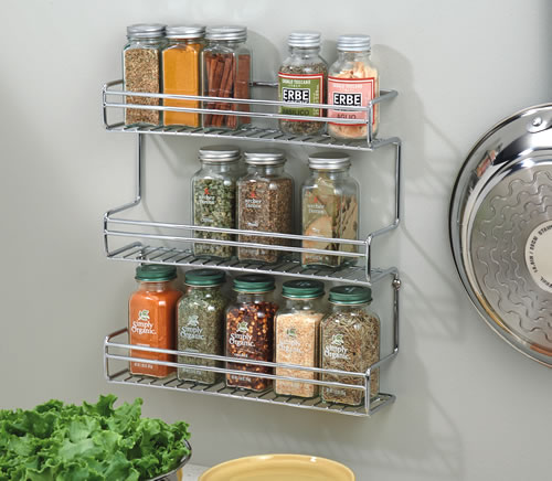 Classico Wall Mountable Spice Storage Rack