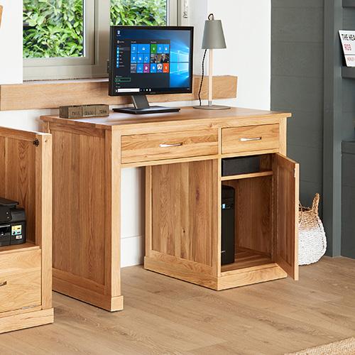 Single Pedestal Computer Desk - Mobel