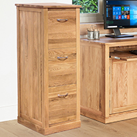 Three Drawer Filing Cabinet - Mobel