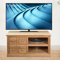 Four Drawer Television Cabinet - Mobel