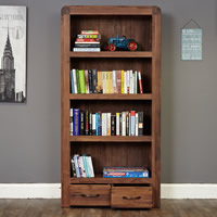 Large 2 Drawer Bookcase - Shiro