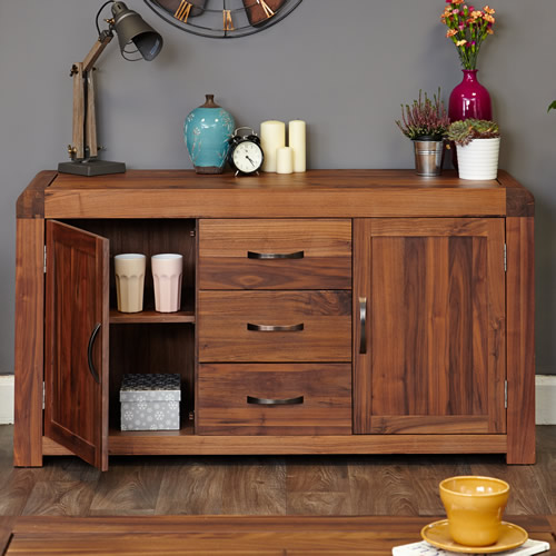 Solid walnut sideboard - Shiro