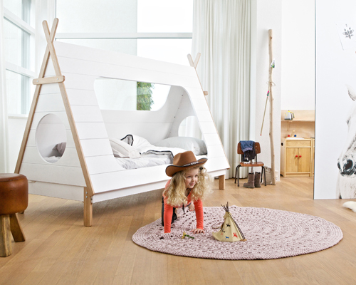 Tipi Kids Bed