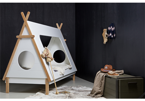 Kids Teepee Cabin Bed By De Eekhoorn