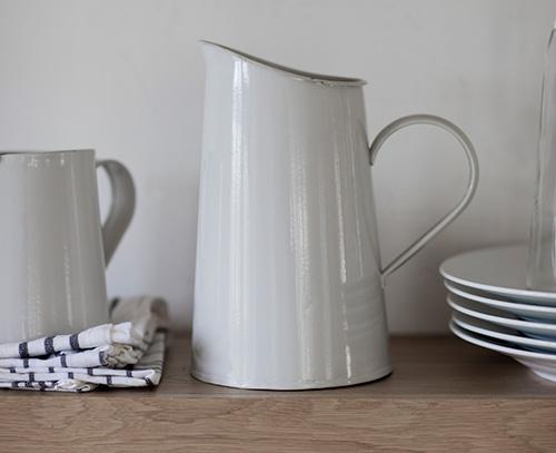vintage jug to store milk, flowers etc