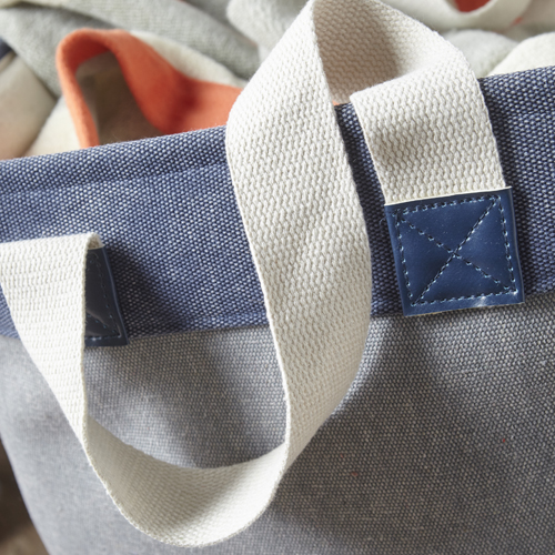 Tall Canvas Laundry Bag