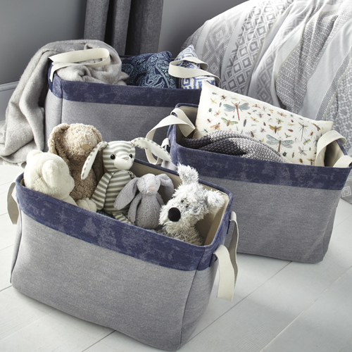 Set of Three Canvas Storage Bags (Large)
