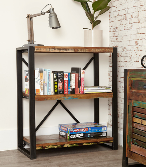 Low Open Bookcase - Urban Chic