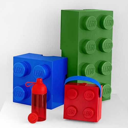 LEGO Storage Starter Pack - Red