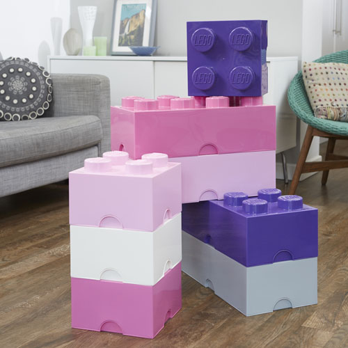 Giant LEGO Storage Blocks - Girly Bundle