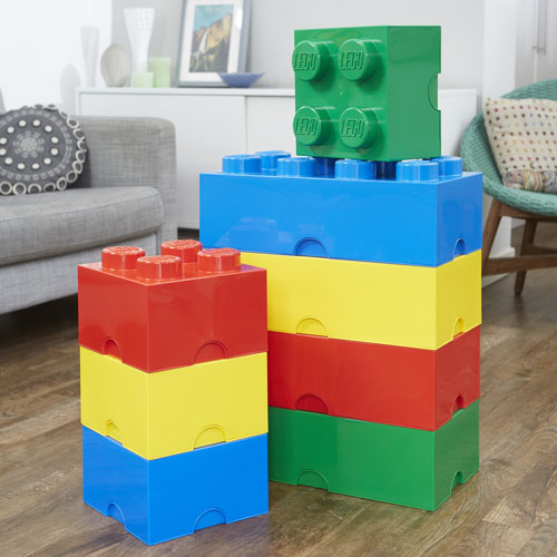 Beau Giant LEGO Storage Blocks   Large Primary Bundle