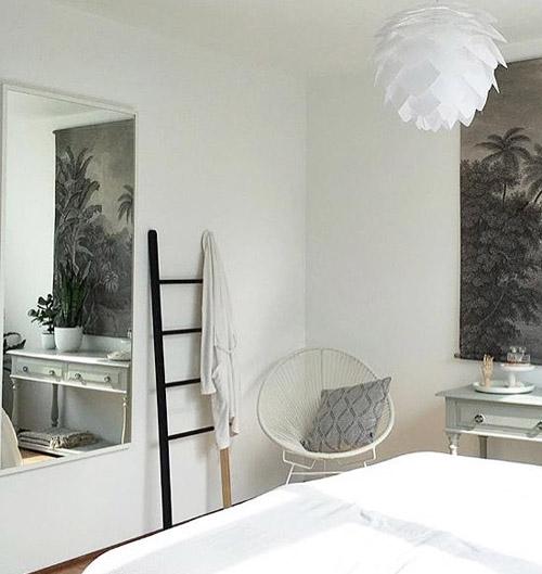 Hub Towel Ladder - Natural Wood and Black - by Umbra