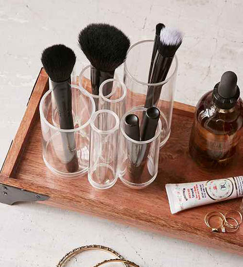 Tubo Cosmetic Organiser by Umbra