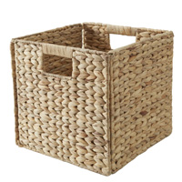Water Hyacinth Basket For Handbridge Cubes