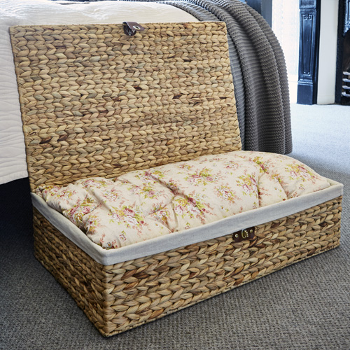 Underbed Storage Basket - Water Hyacinth