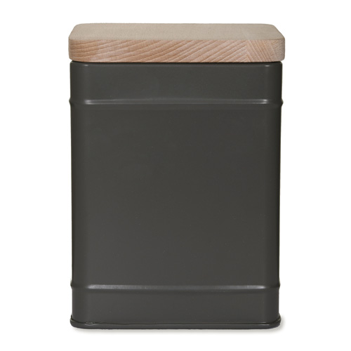 Charcoal grey brough storage canister