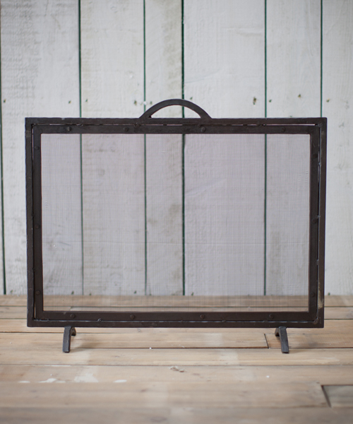 Small Firescreen - Wrought Iron