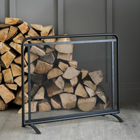 Steel Firescreen - Scandi
