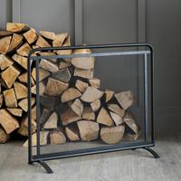 Steel Firescreen - Scandi