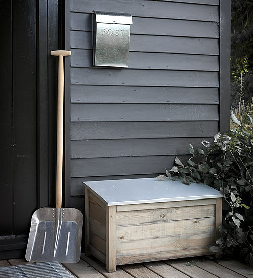 Wooden Log Box - Small