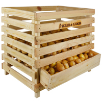 Wooden Potato Crate