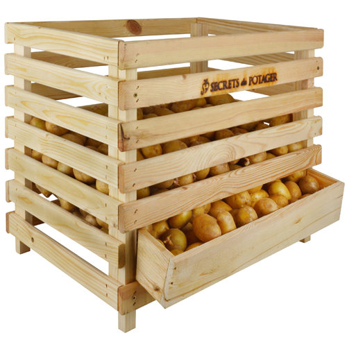 FSC wooden potato store