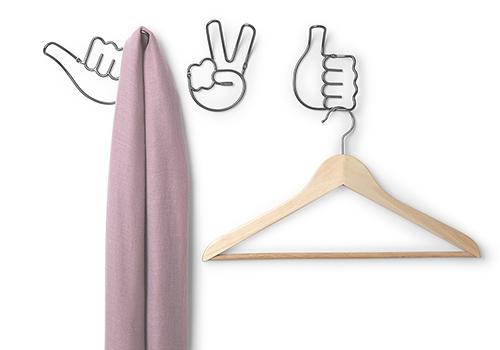3 x Emoji Handy Hooks