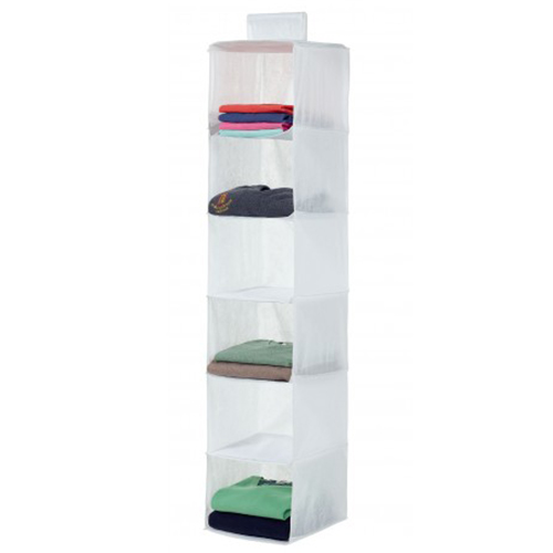 Hanging Sweater Organiser - White