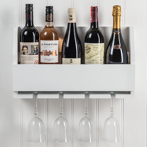 Wine Bottle and Glass Rack - Lewiston