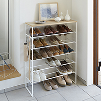 6-Tier Shoe Console - Tower
