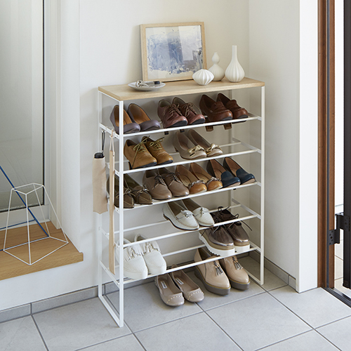 6 tier shoe storage rack and umbrella store