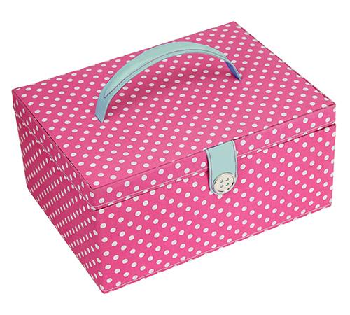 Sewing Box -Polka